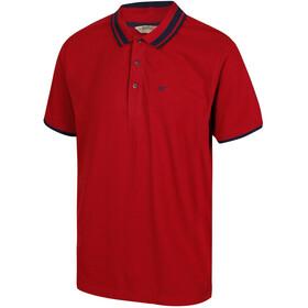 Regatta Talcott II Miehet Lyhythihainen paita , punainen